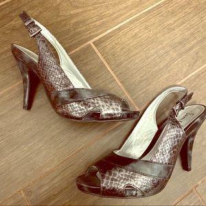 Sam & Libby peep toe heels